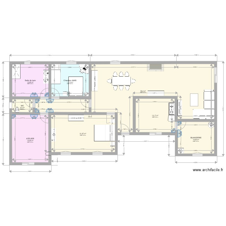 Plan Maison Avec Cote | Ventana Blog