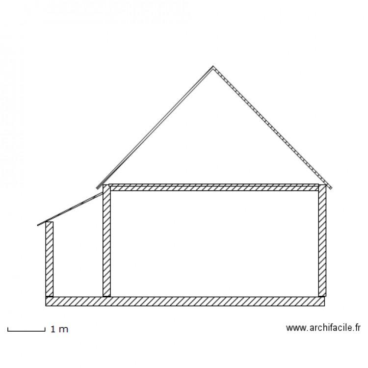 Coupe garage appenti 1 5 plan dessin par timichlc for Plan pour appenti