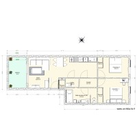 plan Appartement T3 62m2