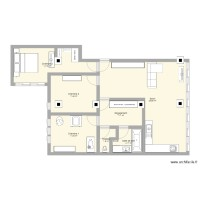 Plan appartement inversion chambre