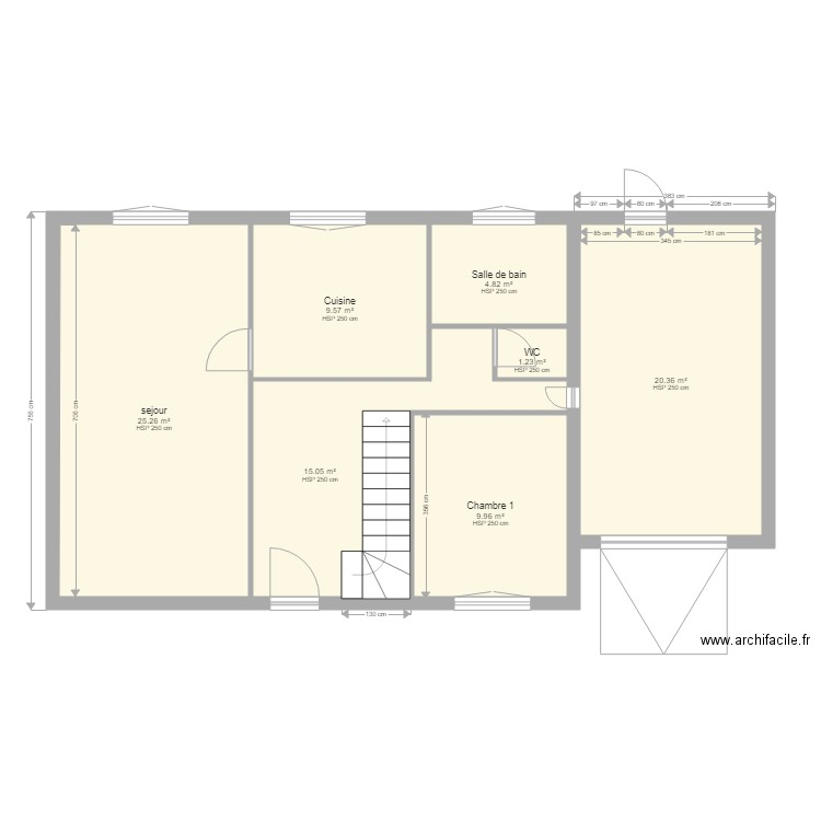 plan de maison bretonne
