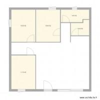 plan maison 40m2