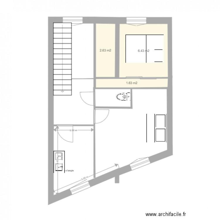 Maison Plan 3 Pi Ces 11 M2 Dessin Par Matdu66