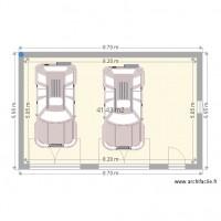Plan de garage 40 m2 for Cout construction garage 40m2