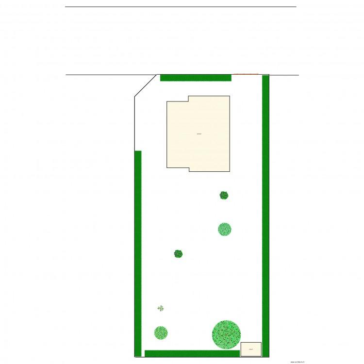 maison lambell plan 2 pi ces 104 m2 dessin par karlvonmago. Black Bedroom Furniture Sets. Home Design Ideas
