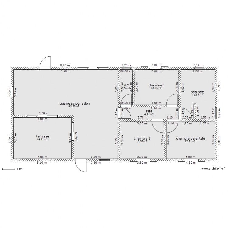 38 Plan Maison Pour Terrain Rectangulaire 13