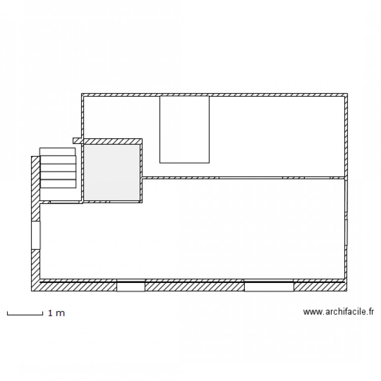 amenagement garage plan 2 pi ces 3 m2 dessin par guy0467. Black Bedroom Furniture Sets. Home Design Ideas
