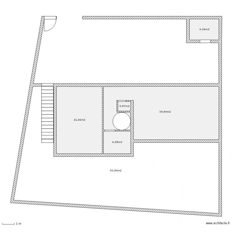 Dp2 plan de masse projet 1er plan 6 pi ces 165 m2 dessin par titi83 - Dessiner un plan de masse ...