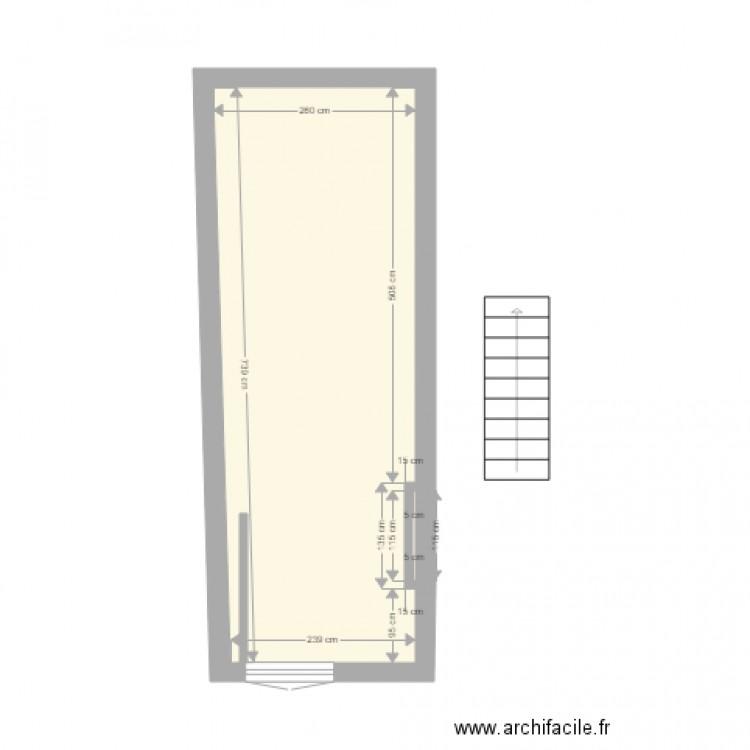 Salon de provence 2 etage plan 1 pi ce 21 m2 dessin par - Plan salon de provence ...