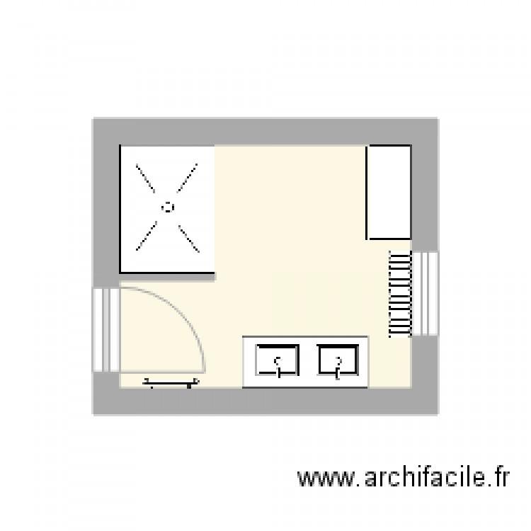 Maison Plan 1 Pi Ce 6 M2 Dessin Par Jldejean