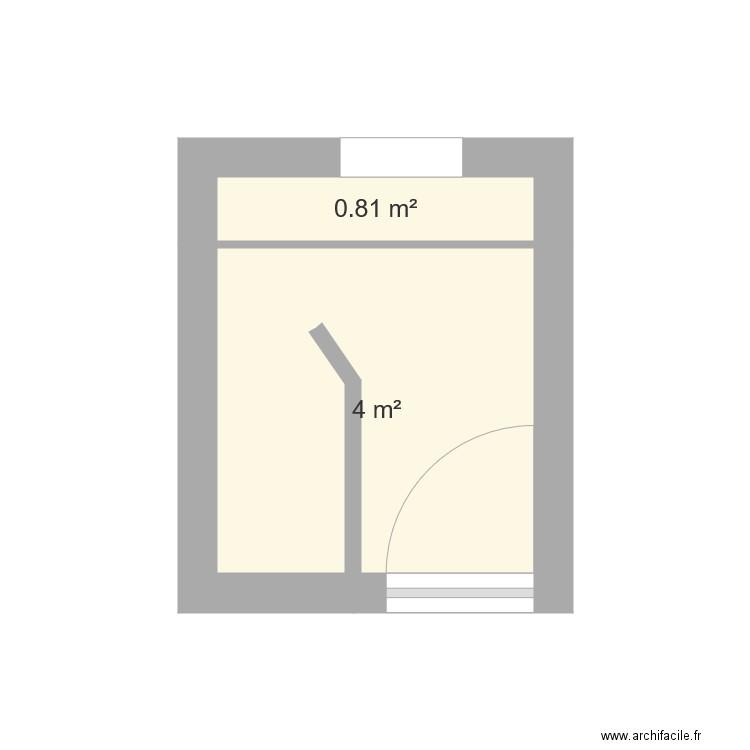Salle de bain plan 2 pi ces 5 m2 dessin par francois100 for Salle de bain 7 5 m2
