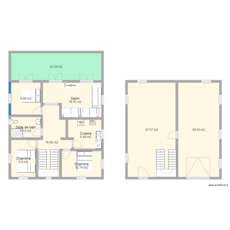 Plan Maison Avec Jardin Interieur  Conceptions De La Maison