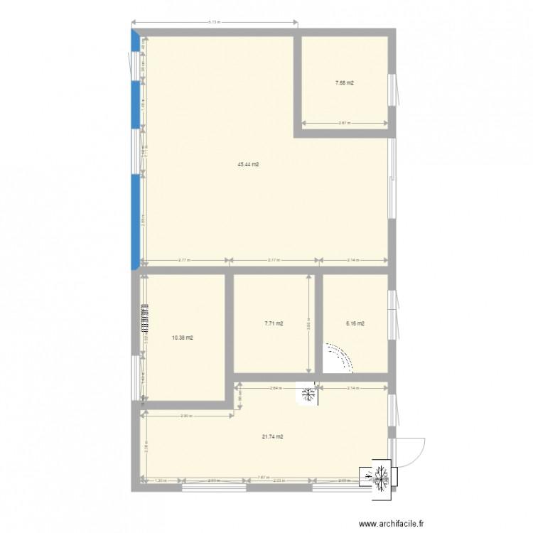 plan maison 99m2