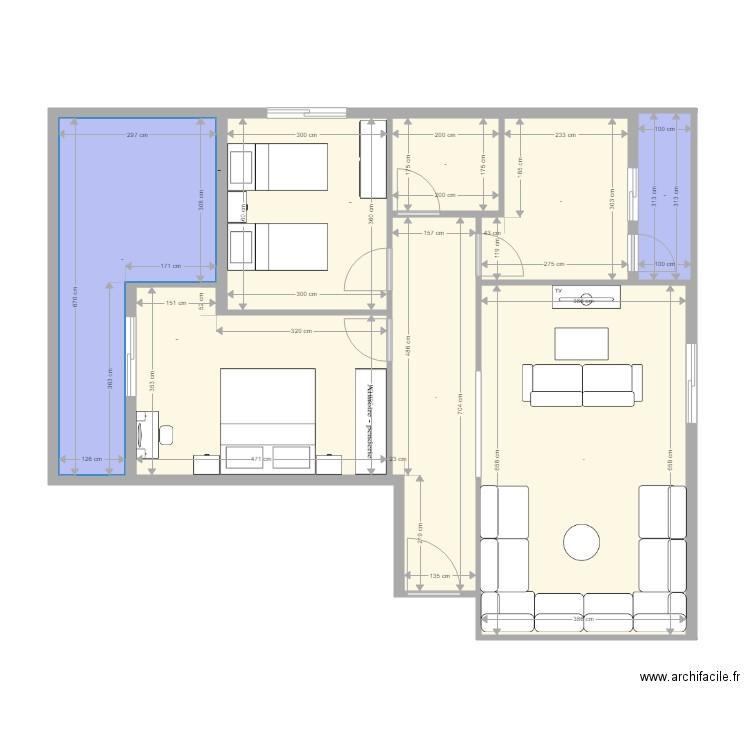 plan appartement 90m2