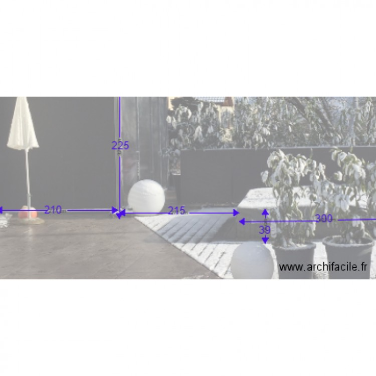 verenda et jacuzzi ouest plan dessin par pachappuis. Black Bedroom Furniture Sets. Home Design Ideas