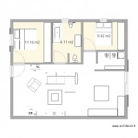 Plan maison 30m2 - Plan appartement 30 m2 ...