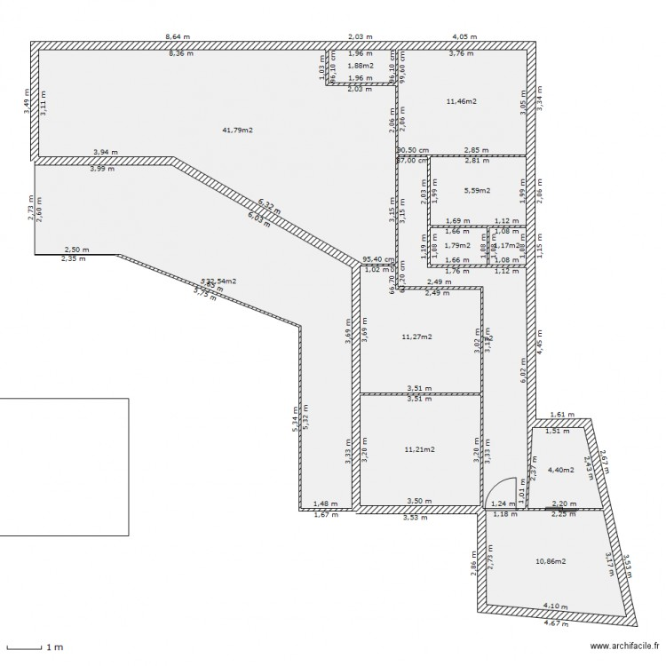 LA MAISON CREOLE. Plan De 12 Pièces Et 152 M2