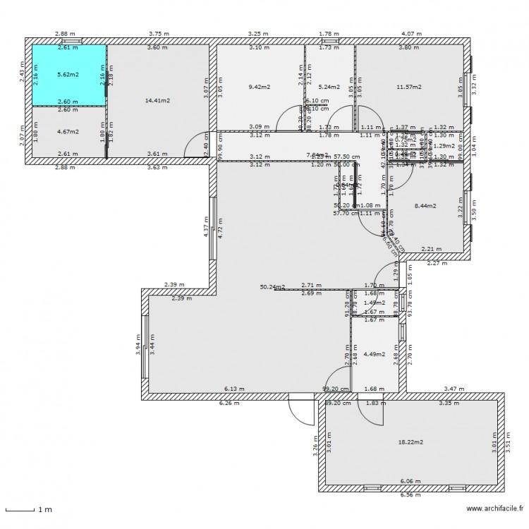 Agrandissement maison avec existant avec c te plan 16 for Agrandissement maison forum