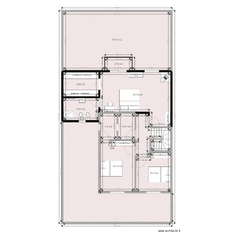 Ma maison etage plan 11 pi ces 173 m2 dessin par brtmous for Dessine ma maison gratuitement