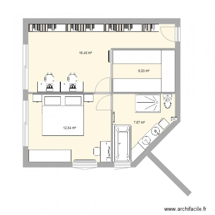 am nagement garage v3 plan 4 pi ces 43 m2 dessin par boulitoche. Black Bedroom Furniture Sets. Home Design Ideas