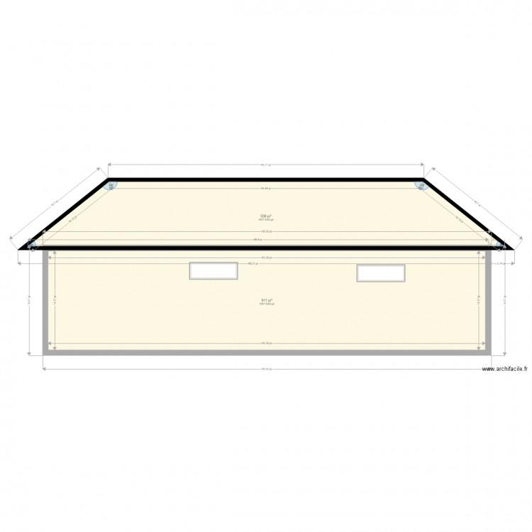 mur est plan 2 pieces 135 m2 dessine par guemard With plan de maison en ligne 8 plan daccas les pyrenees cest ici