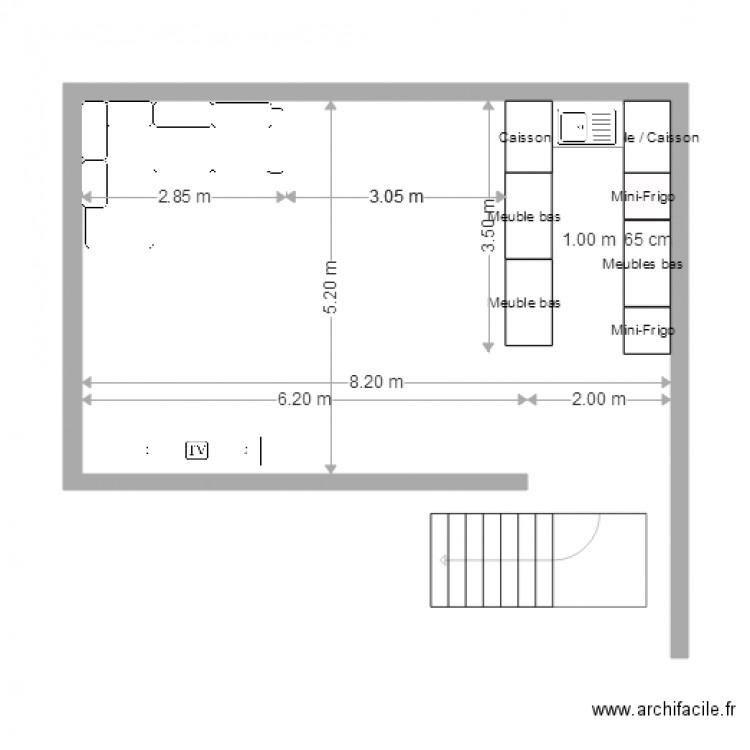 Foyer Et Plan Focal : Foyer ameublement plan dessiné par florian
