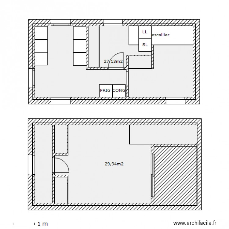 Maison agrandissement mairie plan 8 pi ces 78 m2 dessin for Agrandissement maison plan
