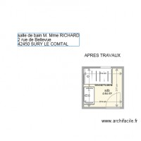 SDB RICHARD APRES TRAVAUX