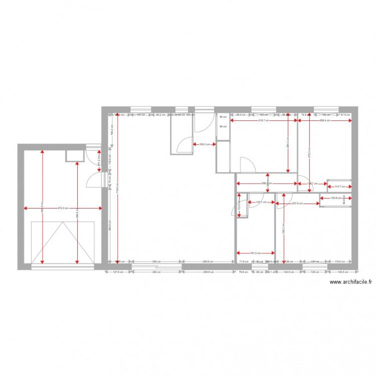 Existant Leognan Masse Cote Ouverture Plan 14 Pi Ces 101