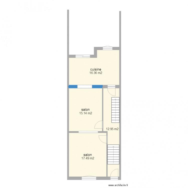 Platanes 11 plan 4 pi ces 62 m2 dessin par aprim for Garage des platanes