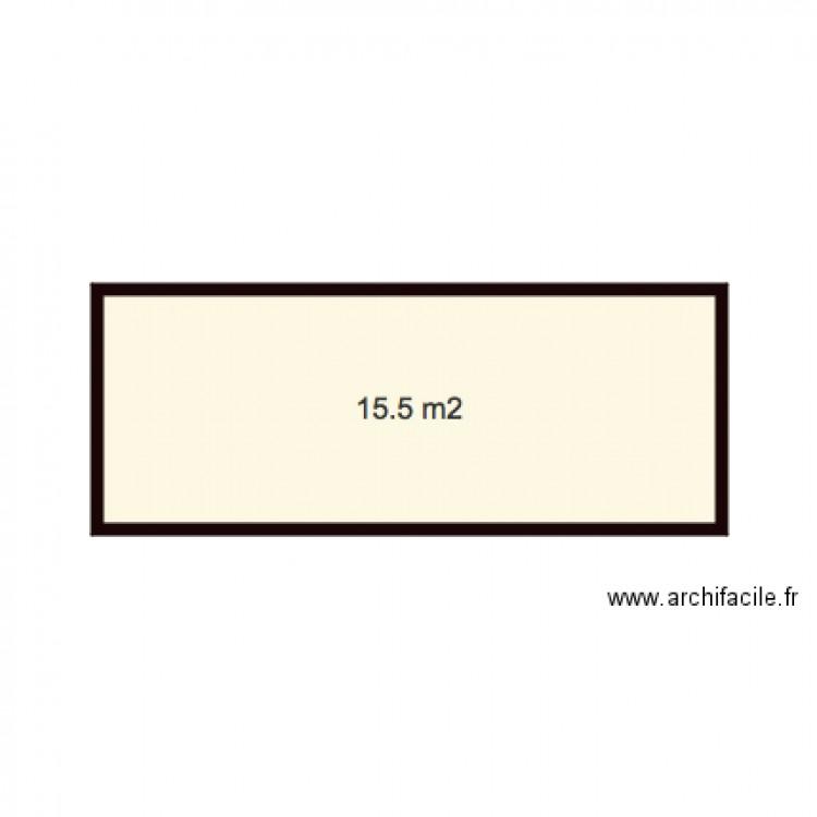 Patio plan 1 pi ce 16 m2 dessin par bbserge72 for Dessiner plan patio