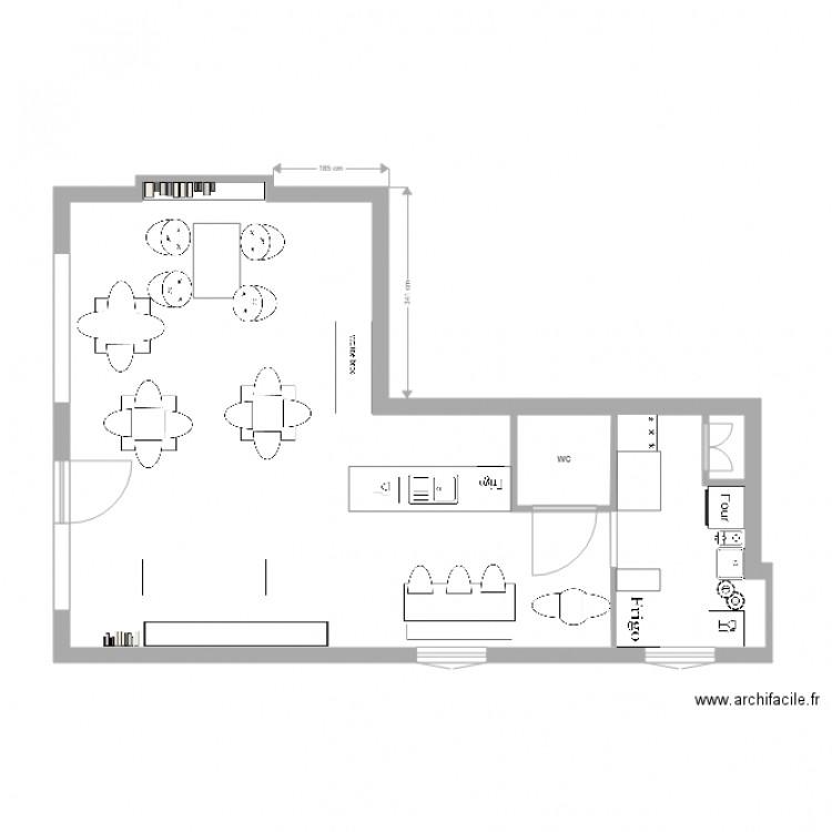 maison a vivre - Plan 2 pièces 60 m2 dessiné par HEURE DU GOUT