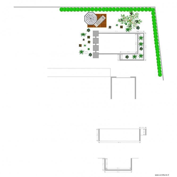 Piscine naturelle plan 3 pi ces 22 m2 dessin par ultimacube for Plan piscine naturelle