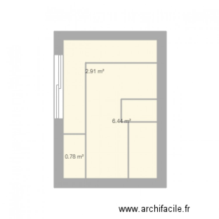 cuisine plan 3 pi ces 10 m2 dessin par crossktm. Black Bedroom Furniture Sets. Home Design Ideas