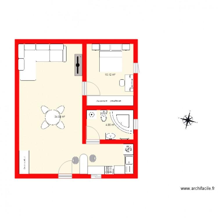 Garage Plan 3 Pi 232 Ces 49 M2 Dessin 233 Par Assouz