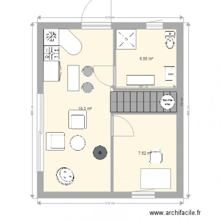 Plan Etage Maison 35m2 | Ventana Blog