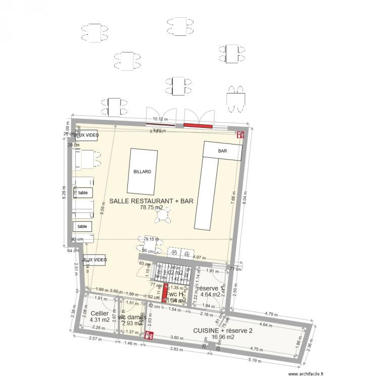 Caf de paris 11 place gambetta 30600 vauvert plan 7 for Garage des canaux vauvert