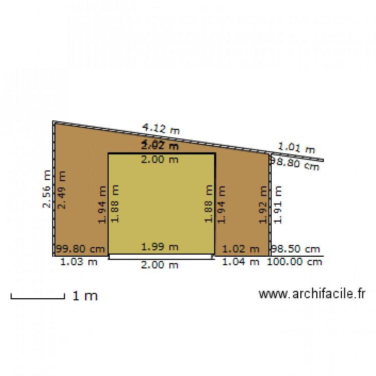 Abri jardin et garage fa ade est plan 2 pi ces 9 m2 dessin par lesjonquilles - Abri jardin grande taille ...
