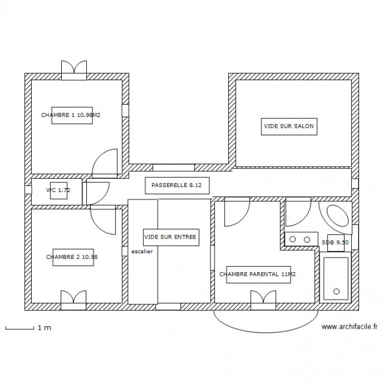 Plan De Maison En U Avec Etage  Ides Dcoration Intrieure