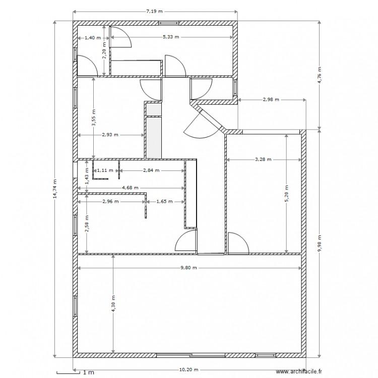 D coration plan d une maison avec cotation 78 plan - Plan maison avec cotation ...