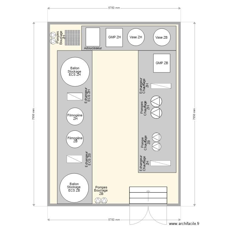 2 rodin final plan 1 pi ce 43 m2 dessin par yoyo91. Black Bedroom Furniture Sets. Home Design Ideas