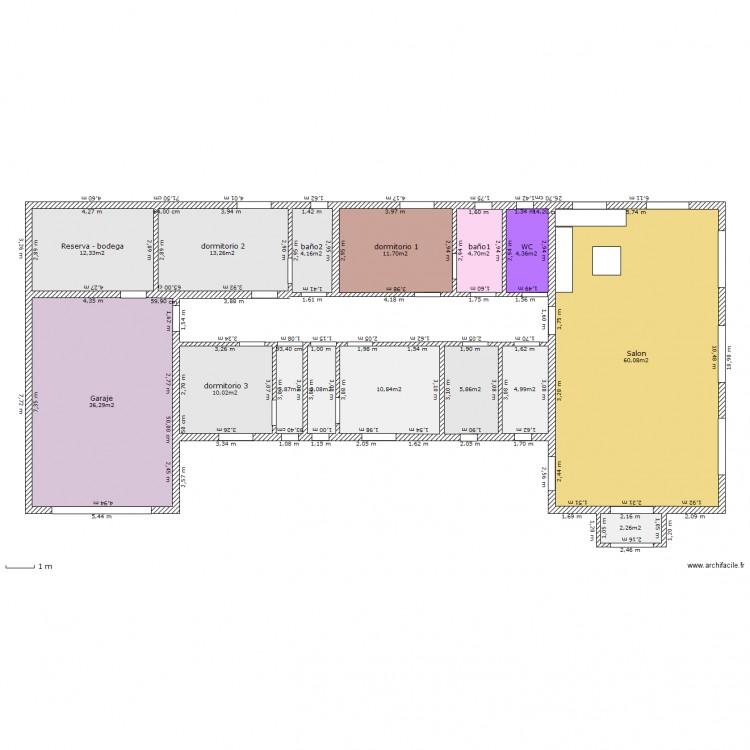 Plan maison 180 m2 plain pied stunning maison plainpied - Plan maison 180 m2 plain pied ...