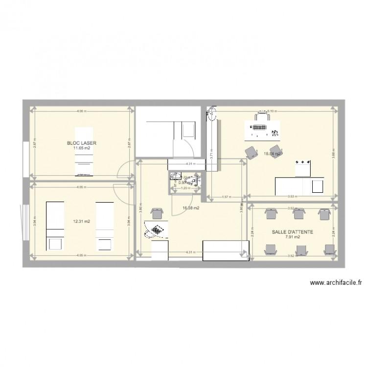vin 2 plan 6 pi ces 68 m2 dessin par guest5. Black Bedroom Furniture Sets. Home Design Ideas