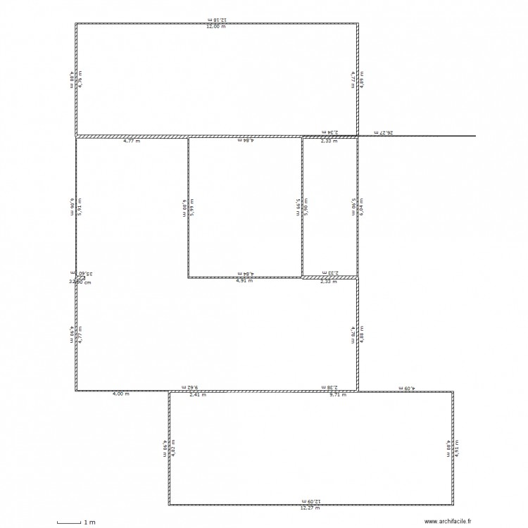 Maison container 5 plan dessin par decoy for Container maison taille