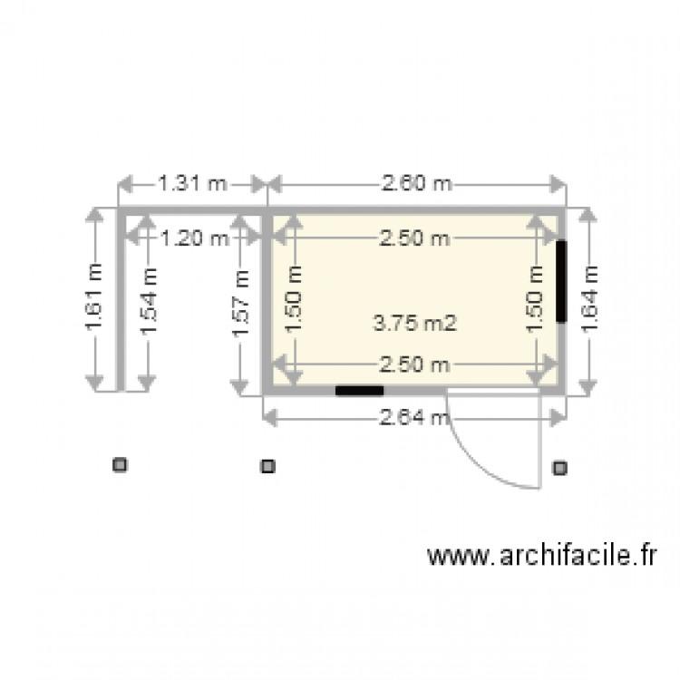 Poulailler vue dessus grand plan 1 pi ce 4 m2 dessin - Plan de poulailler gratuit a telecharger ...