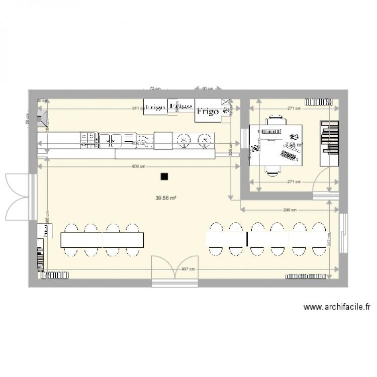 Foyer Et Plan Focal : Foyer plan pièces m dessiné par herveleguen
