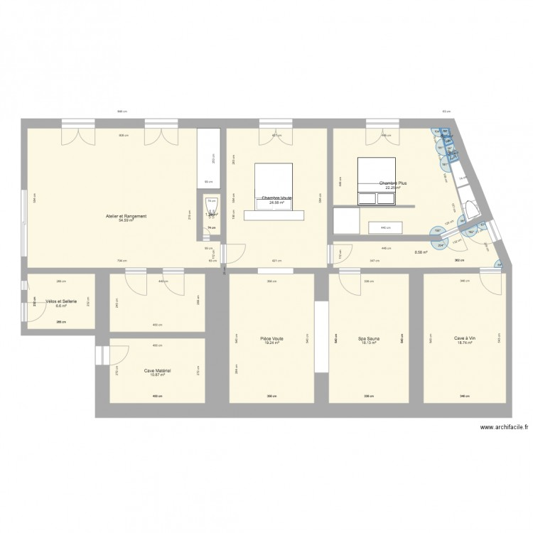 Agrandissement mur appenti v4 plan 12 pi ces 185 m2 for Plan pour appenti