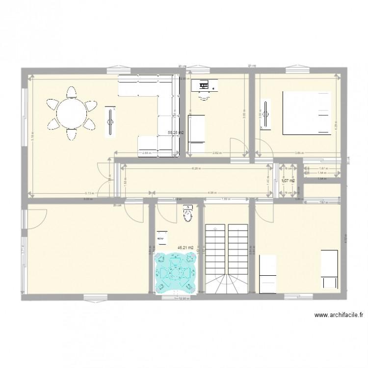 Maison De Slim Plan 3 Pi Ces 106 M2 Dessin Par Metaslim