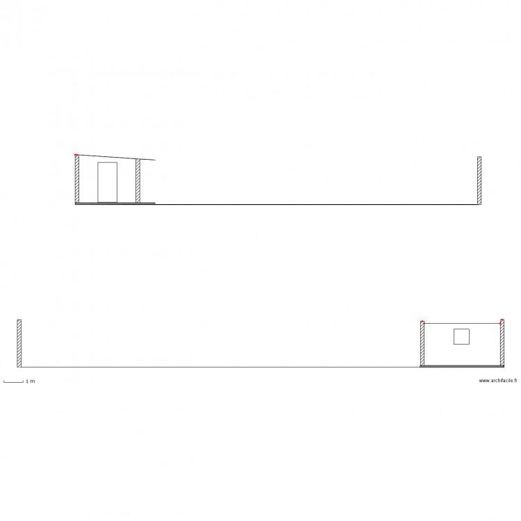 Dp3 Plan En Coupe Construction D Un Abri De Jardin Plan Dessine