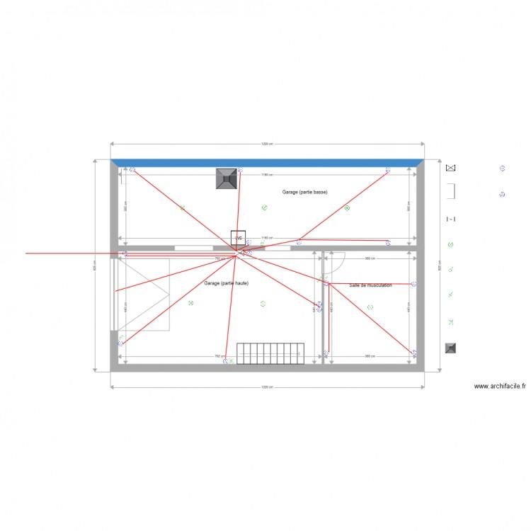 plan electrique en ligne  cuisine schema electrique branchement cablage comment dessiner le plan
